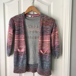 Gap Girls Size 8 Sweater and long sleeve tee